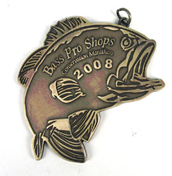 Bass Pro Shop Finishers Medallion