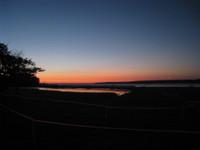 Dawn at Clinton Lake